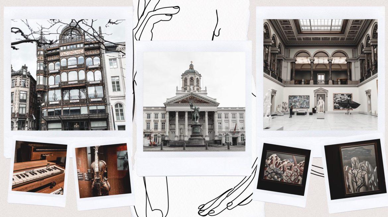 Voyage week end Bruxelles Place Royale et musées