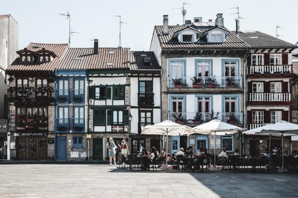 Blog voyage Pays Basque espagnol Hondarribia Fontarrabie