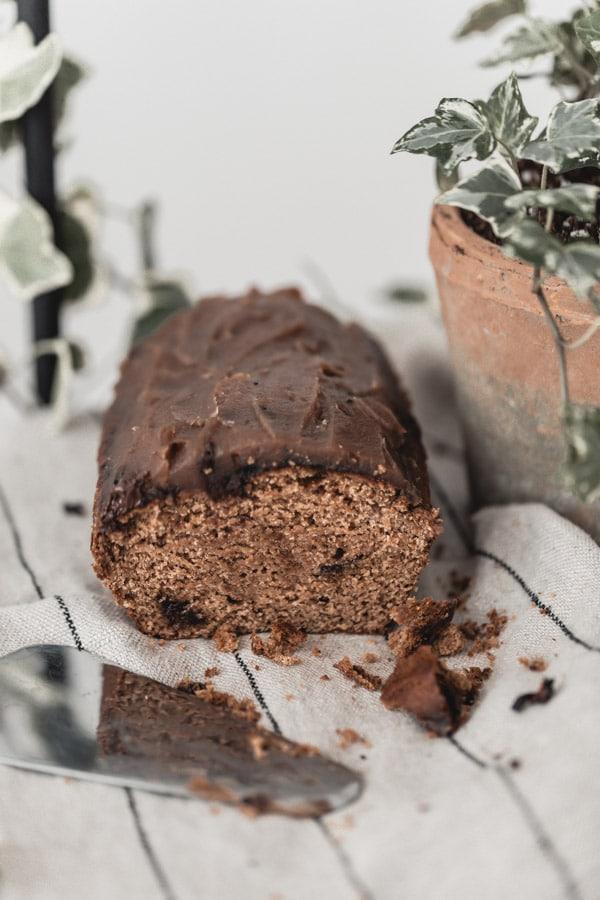 Gâteau moelleux châtaigne et chocolat au four vapeur Whirlpool