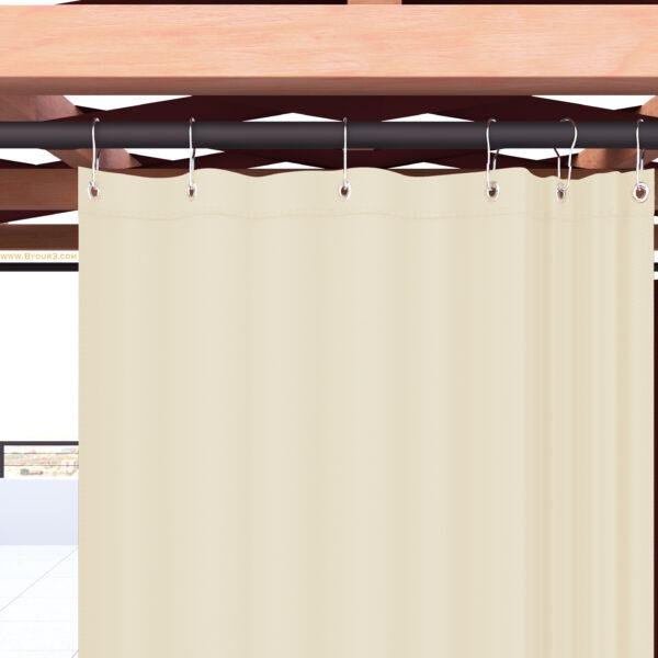 Alcune informazioni utili sulle tende da sole per balcone: Tende Da Sole Per Esterno In Acrilico Con Anelli A Caduta Impermeabili Antimuffa Tinta Unita Qualita A Byour3