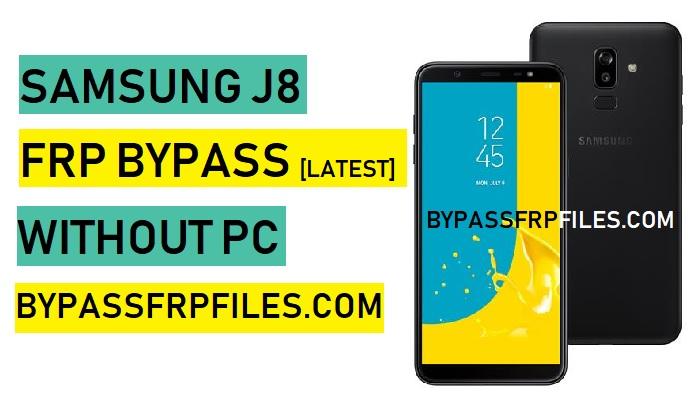 Bypass FRP Samsung J8 Without PC,Bypass FRP Google Account Samsung J8