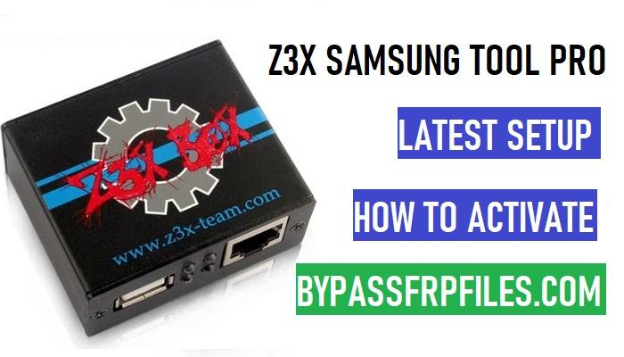 Z3x Samsung tool Pro