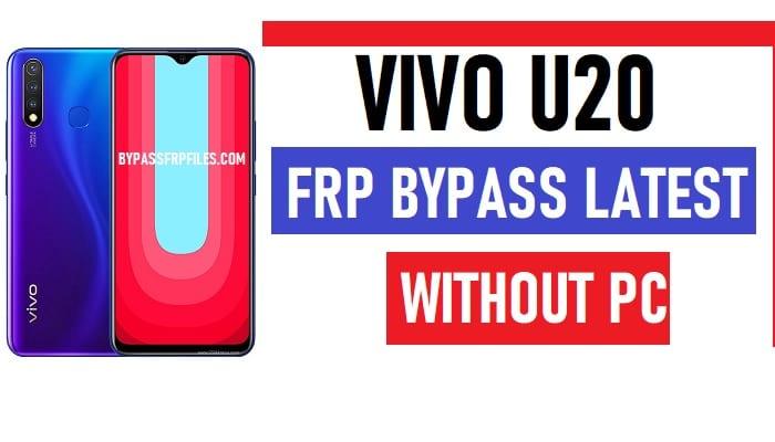 Vivo U20 FRP Bypass – Unlock Google Account Lock (Android 9.1)