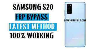 Samsung S20 FRP Bypass - Unlock Google Account (Android 10)