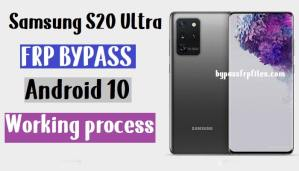 Samsung S20 Ultra FRP Bypass - Unlock Google Account (Android 10)