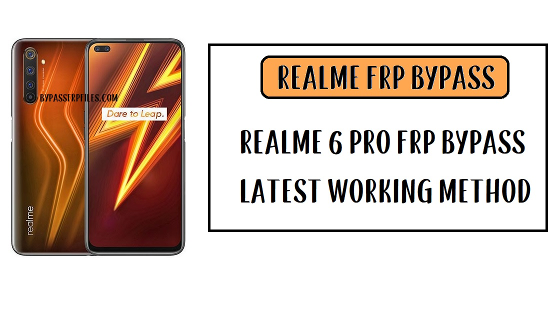 Realme 6 Pro FRP Bypass - Unlock Google Account (Android-10)