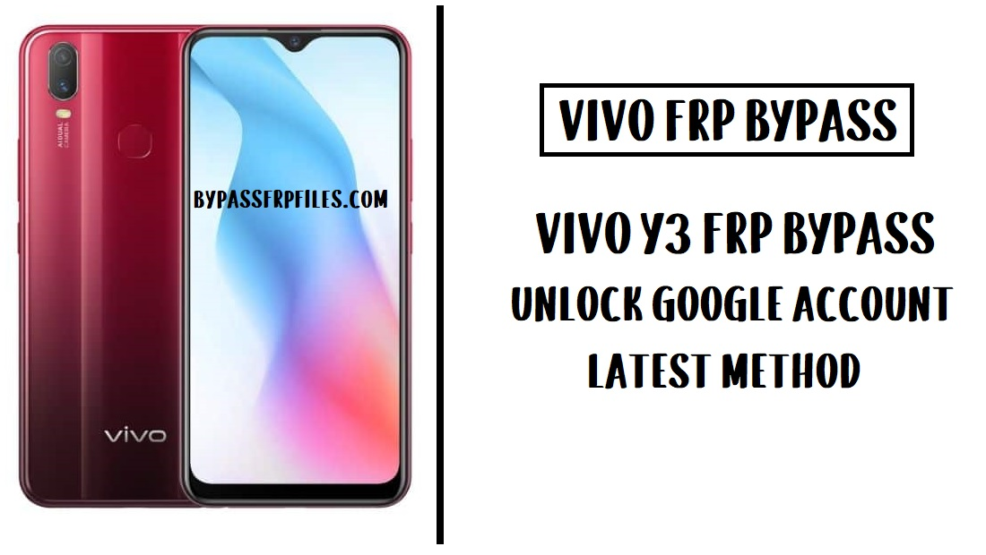 Vivo Y3 FRP Bypass (Unlock Google Account) Without PC 2020