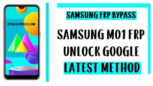 Samsung M01FRP Bypass (Unlock SM-M015F/G Google Account) - Android 10