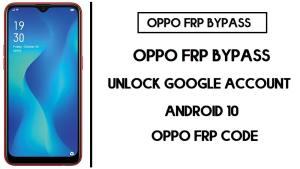Oppo A1K FRP Bypass (Unlock CPH1923 Google Account) FRP Code