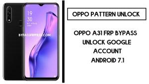 Oppo A31 FRP Bypass (Unlock CPH2031 Google Account) FRP Code