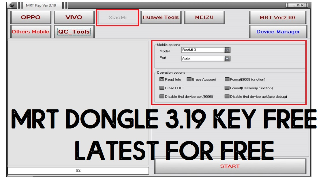 Download MRT Dongle Crack 3.19 Full – Free MRT Tool Without Dongle
