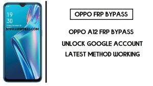 Oppo A12 FRP Bypass (Unlock CPH2077 Google Account) FRP Code
