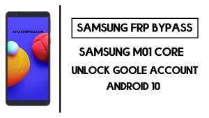Samsung M01 Core FRP Bypass - Unlock SM-M013F Google Without PC- (2020) Free