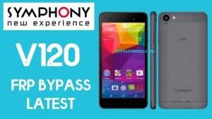Symphony v120 FRP bypass | Unlock Google Without PC 2020