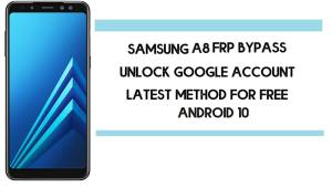 Samsung A8 FRP Bypass | How To Unlock SM-A530 Google Account (Android 10) 2020