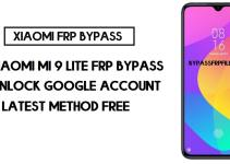 Xiaomi Mi 9 Lite FRP Bypass | How to Unlock Google Verification (MIUI 12)