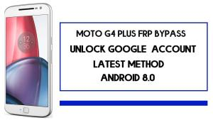 Moto G4 Plus FRP Bypass | How To Unlock Google Account (Android 8.1) Without PC