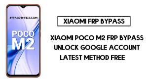 Xiaomi Poco M2 FRP Bypass | How to Unlock Google Verification (MIUI 12)