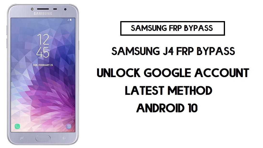 Samsung J4 FRP Bypass | How to Unlock Samsung SM-J400 Google Verification - Android 10 (2020)