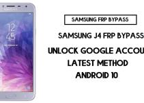 Samsung J4 FRP Bypass | How to Unlock Samsung SM-J400 Google Verification – Android 10 (2020)