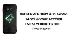 Xiaomi Black Shark 3 FRP Bypass   How to Unlock Google Verification (MIUI 12)