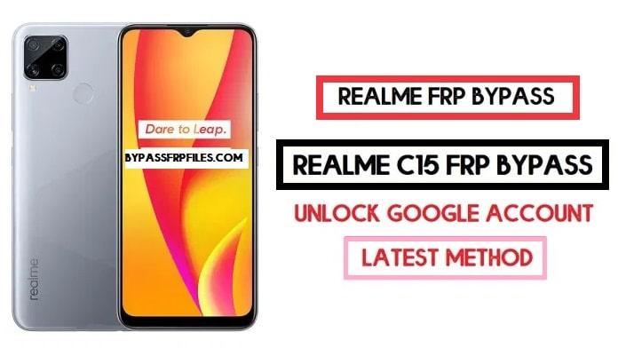 Realme C15 FRP Bypass (Google Account Unlock) FRP Code