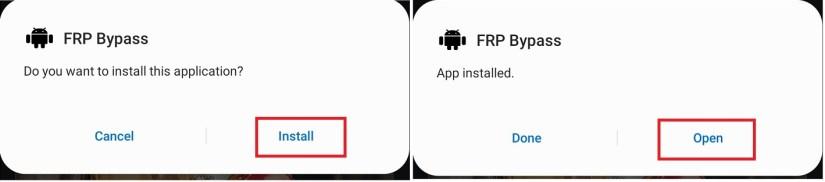 Open FRP Bypass APK to Bypass FRP Infinix/Tecno/Gionee/Nokia/