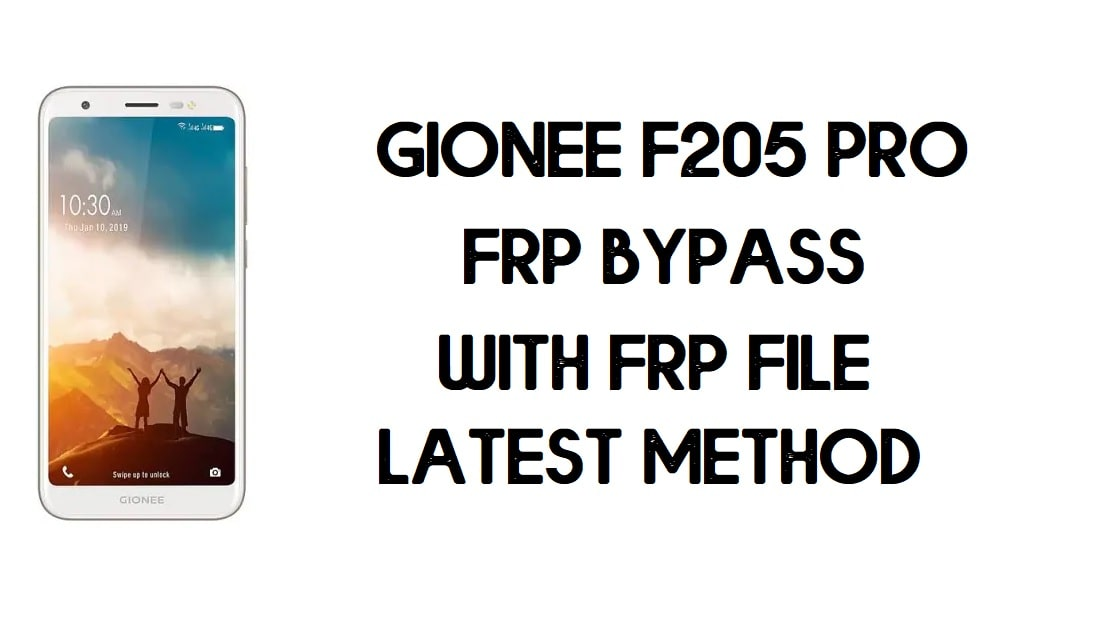 Gionee F205 Pro FRP Bypass | How to Unlock Google Account - FRP File