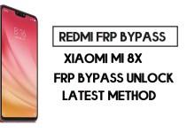 Xiaomi Mi 8x FRP Bypass | How to Unlock Google Account- MIUI 11
