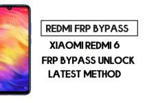Xiaomi Redmi 6 FRP Bypass   How to Unlock Google Account- MIUI 12