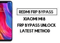 Xiaomi Mi 8 FRP Bypass | How to Unlock Google Account- MIUI 12