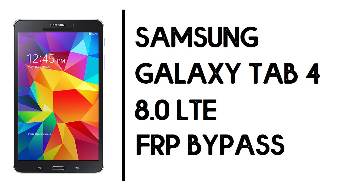 How to Samsung Tab 4 10.1 FRP Bypass | Unlock SM-T530 Google Account- Android 6.0.1- Without PC