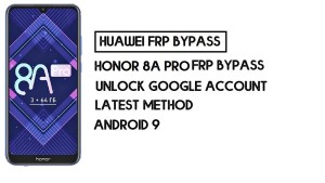 How To Honor 8A Pro FRP Bypass | Unlock Google Account–Without PC