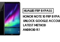 How to Honor Note 10 FRP Bypass | Unlock Google Account – Without PC (Android 8.1)