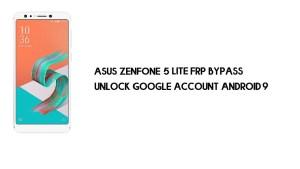 Asus Zenfone 5 Lite ZC600KL FRP Bypass | Unlock Google – Android 9