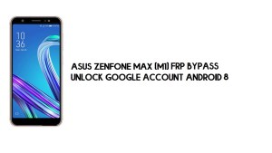 Asus Zenfone Max (M1) FRP Bypass | Unlock Google – Android 8 (No PC)
