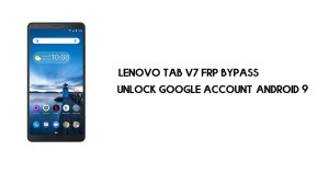 Lenovo Tab V7 (PB-6505M) FRP Bypass | How to Unlock Google Verification (Android 9)- Without PC