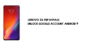 Lenovo Z6 (L78121) FRP Bypass | Unlock Google Account – Android 9