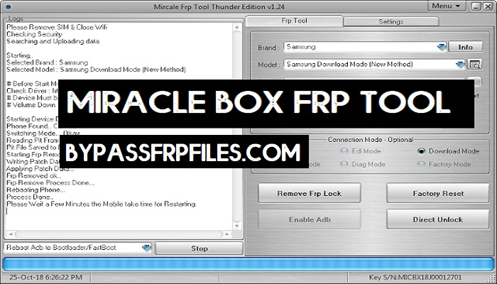 Miracle FRP Tool Latest Setup Download