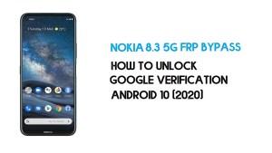 Nokia 8.3 5G FRP Bypass | Unlock Google Verification – Android 10 (2021)
