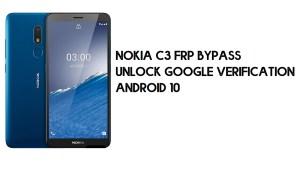 Nokia C3 FRP Bypass | Unlock Google Verification – Android 10 (2021)