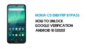 Nokia C5 Endi FRP Bypass | Unlock Google Lock – Android 10 (2021)