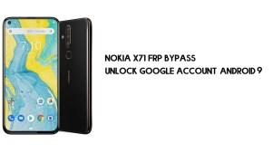 Nokia X71 FRP Bypass | Unlock Google Account – Android 9 (2021)