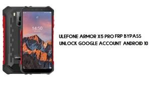 Ulefone Armor X5 Pro FRP Bypass | Unlock Google Account – Android 10