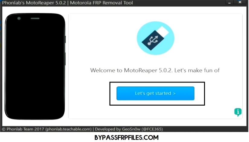 Motoreaper FRP Bypass Tool | New One-Click Motorola FRP Remove Tools