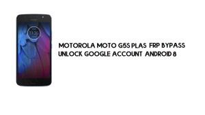 Motorola Moto G5S Plus FRP Bypass | Unlock Google Account Android 8