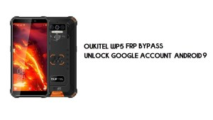 Oukitel WP5 FRP Bypass Without PC | Unlock Google – Android 9
