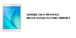 Samsung Tab A FRP Bypass | Google Account Unlock SM-T550 [Without Computer]