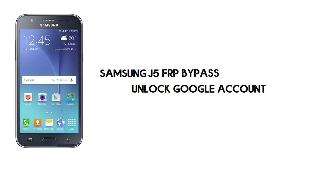 Bypass FRP Samsung J5 | Google Account Unlock SM-J500 [Without PC]