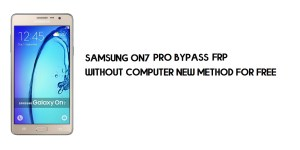Samsung On7 Pro FRP Bypass | Google Account Unlock SM-G600FY [Without Computer]